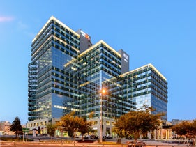 The Amot Insurance complex and NYX boutique hotel, Tel Aviv