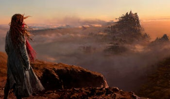 """""""Mortal Engines."""" A world that fuses past and future, nature and technology, in a charming manner."""