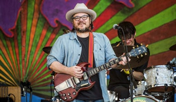 Jeff Tweedy performs at the New Orleans Jazz and Heritage Festival, May 5, 2017.