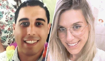Ziv Hajbi, 35, and Kim Yehezkel, 29, the victims of a deadly shooting in the West Bank, October 7, 2018.