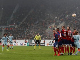 Europa League match between Vidi FC and Chelsea in Budapest, Hungary, December 13, 2018.