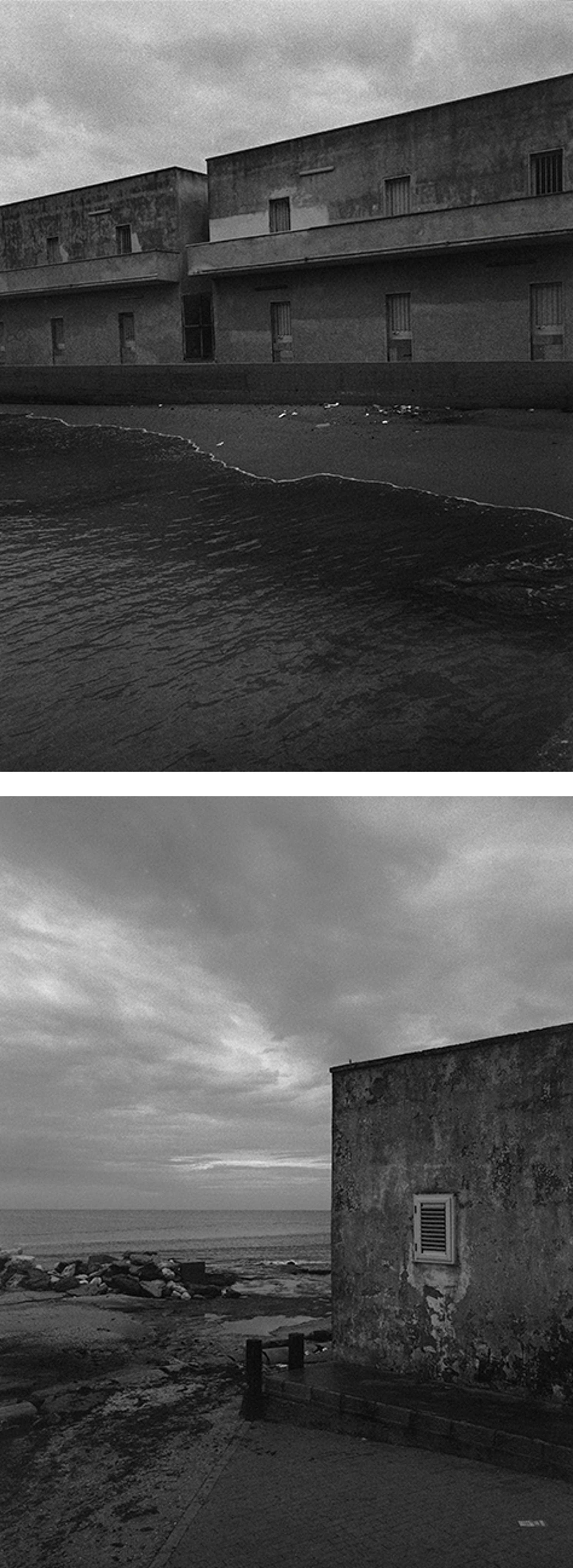 A photographic journey along Europe's coasts, which migrants long for.