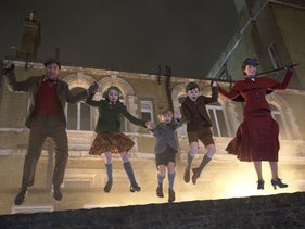 "A scene from ""Mary Poppins Returns."""