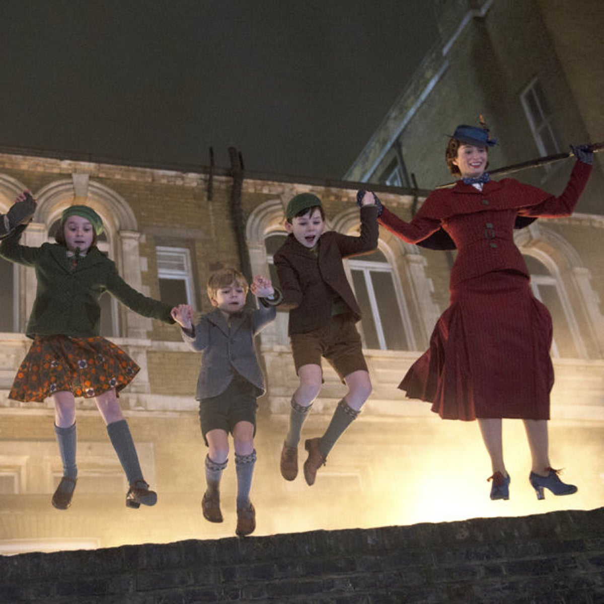 """A scene from """"Mary Poppins Returns."""""""