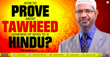 YouTube video of Muslim preacher Zakir Naik talk aimed at proselytizing India's Hindus. 2015