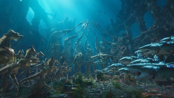 """A scene from """"Aquaman."""""""