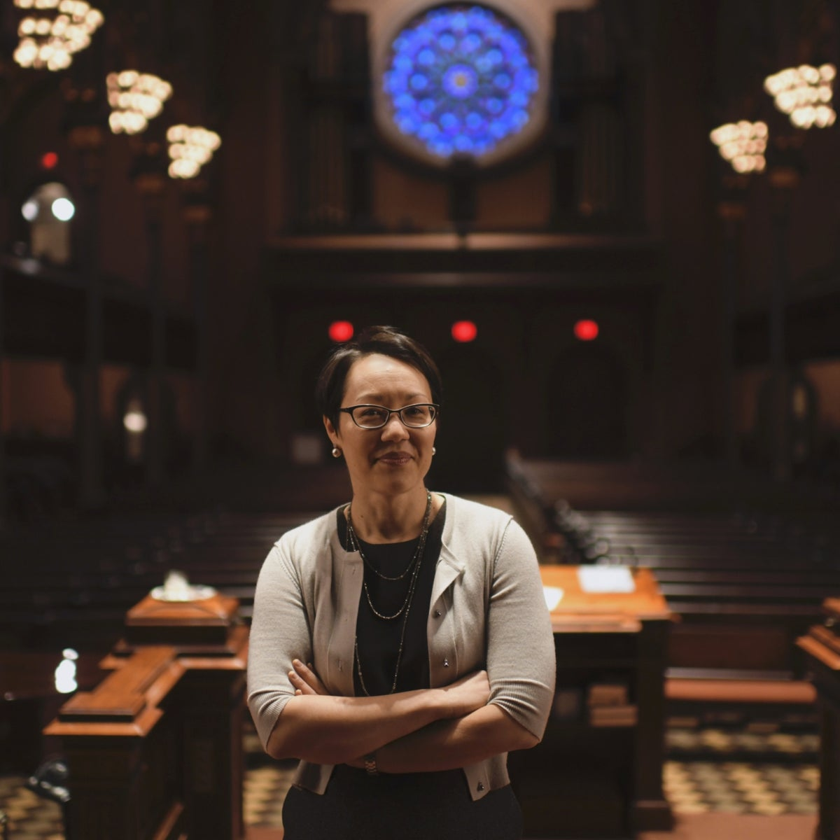 Angela Warnick Buchdahl, a senior rabbi at New York's Central Synagogue.