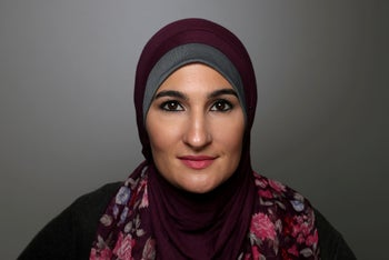 FILE PHOTO: Women's March National Co-Chair Linda Sarsour.