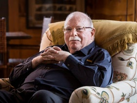 FILE Photo: Michael Steinhardt in his home in Mount Kisco, March 15, 2013.