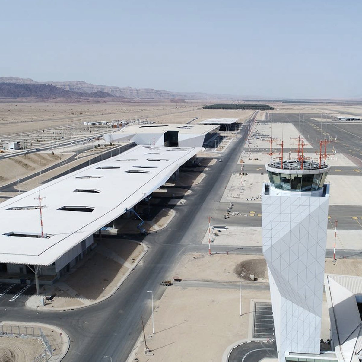 The Ramon Airport was built over the past five years at a cost of 1.75 billion shekels ($473.5 million)