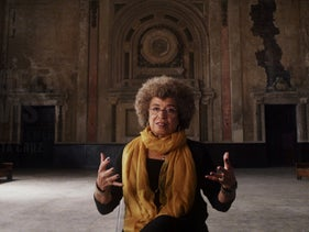 "File photo: Angela Davis in a scene from the Netflix film ""13th"", September 2016."