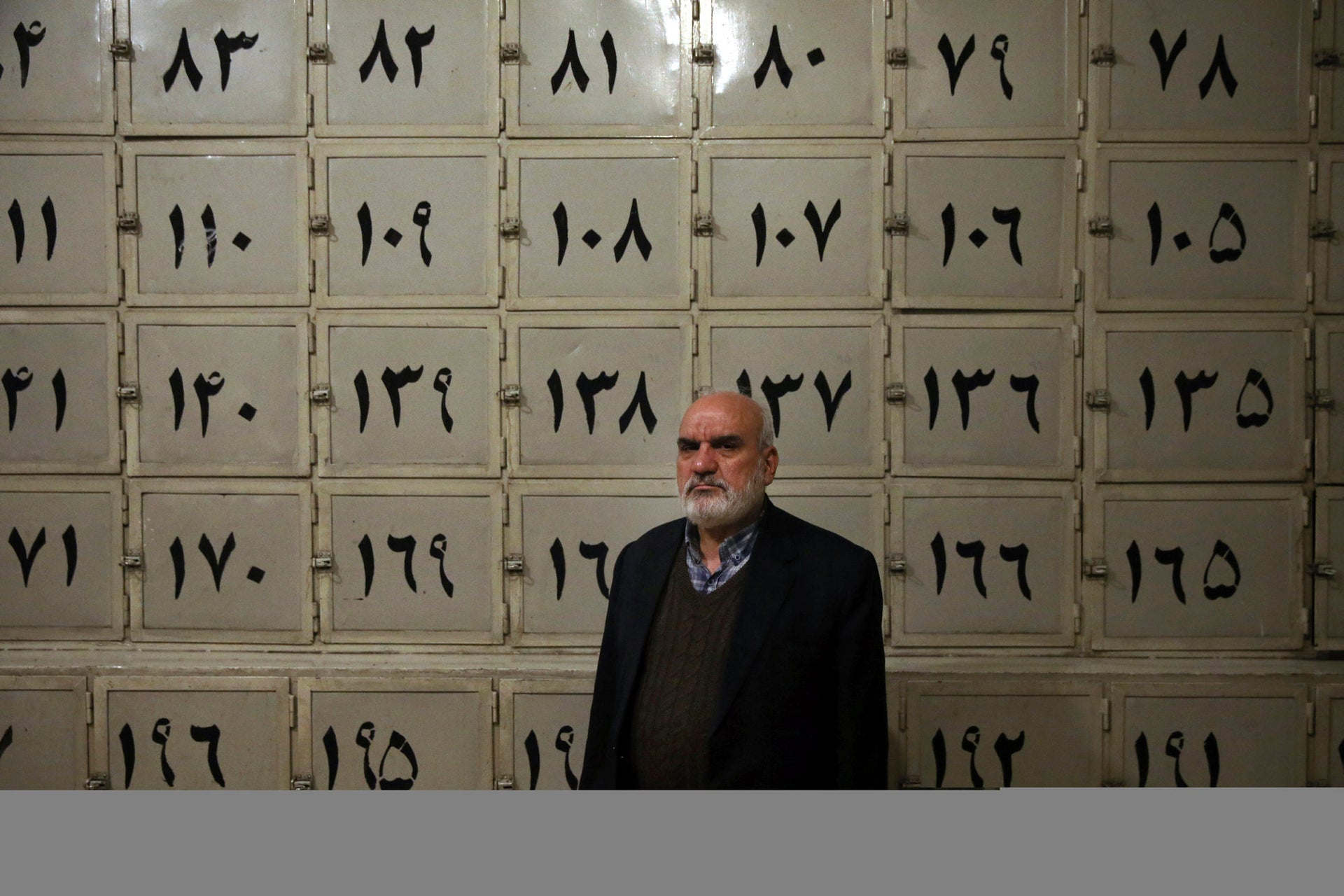 Ahmad Sheikhi, a 63-year-old former revolutionary, poses for a photo at a former SAVAK prison where he was once tortured, in Tehran, Iran, January 7, 2019.