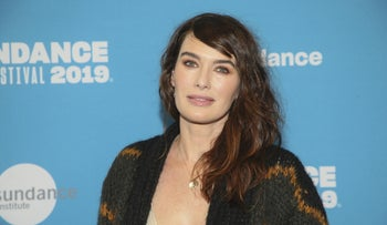 """Lena Headey at the """"Fighting With My Family"""" Premiere at the Sundance Film Festival, 2019."""