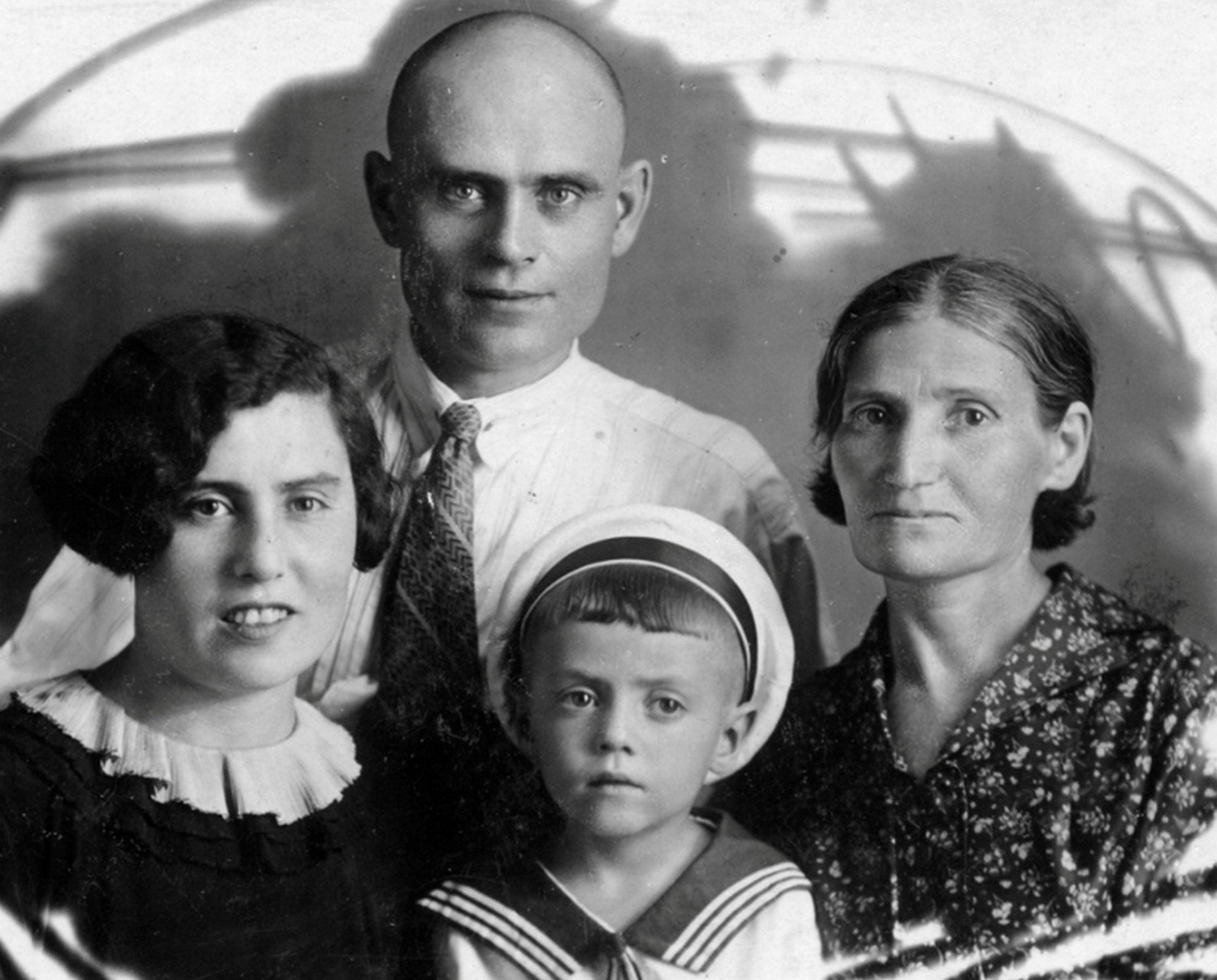 The Gramm family, all murdered by the Nazis in the Zmievskaya Balka massacre in August 1942. None of the victims' names have ever been published in schoolbooks or by the state.
