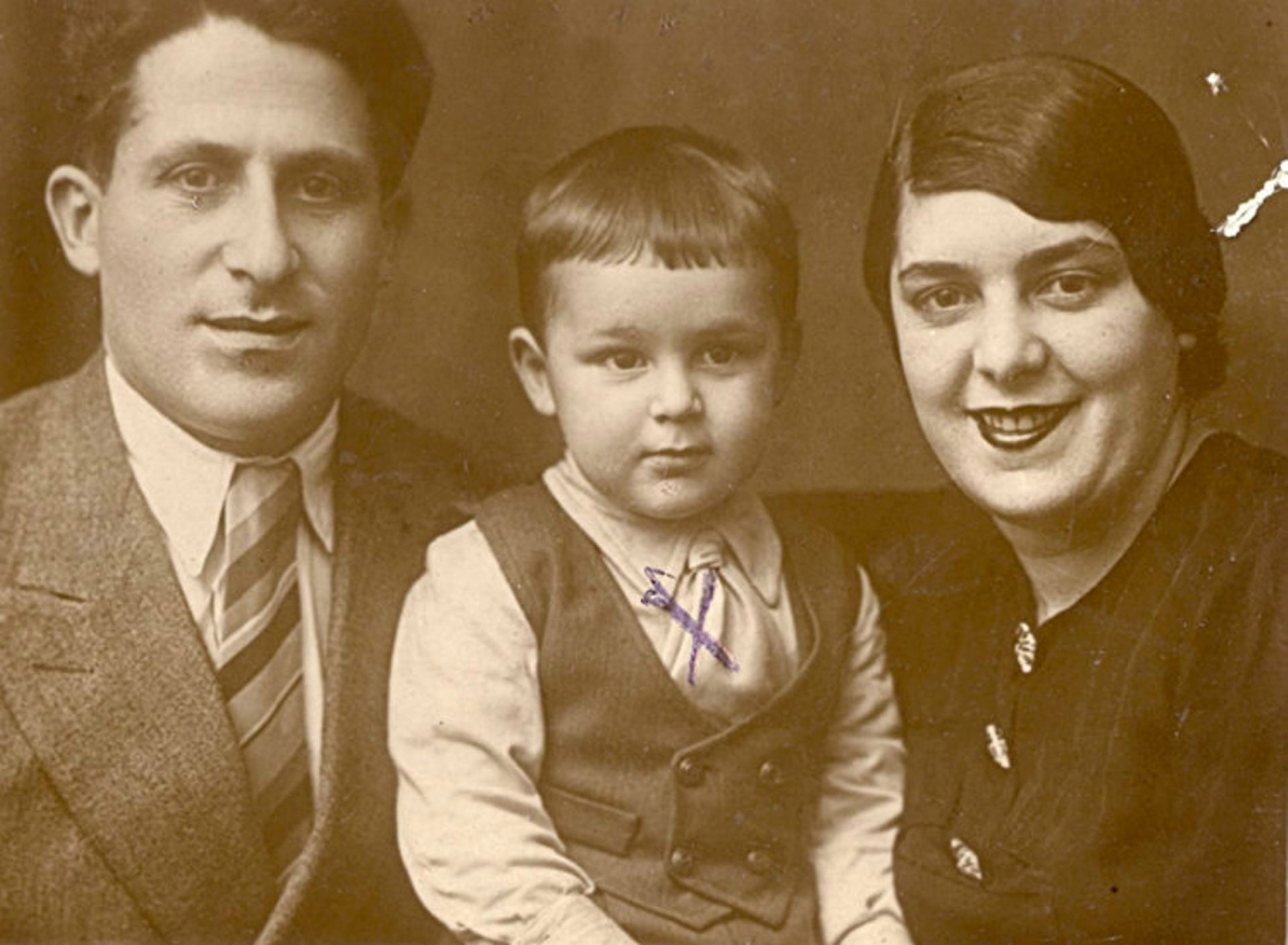 The Meerovich family from Rostov-on-Don. At the start of World War II, Jews made up 5.4 percent of the city's population.
