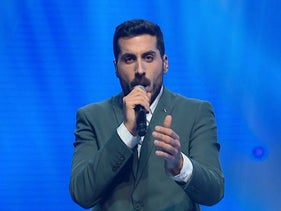 Israeli singer Kobi Marimi is announced as Israel's representative to the Eurovision Song Contest, February 12, 2019.