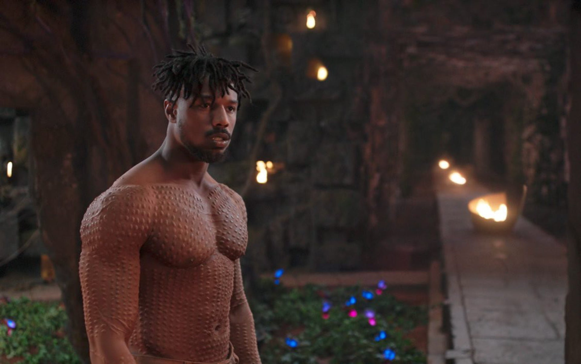 Michael B. Jordan in 'Black Panther'