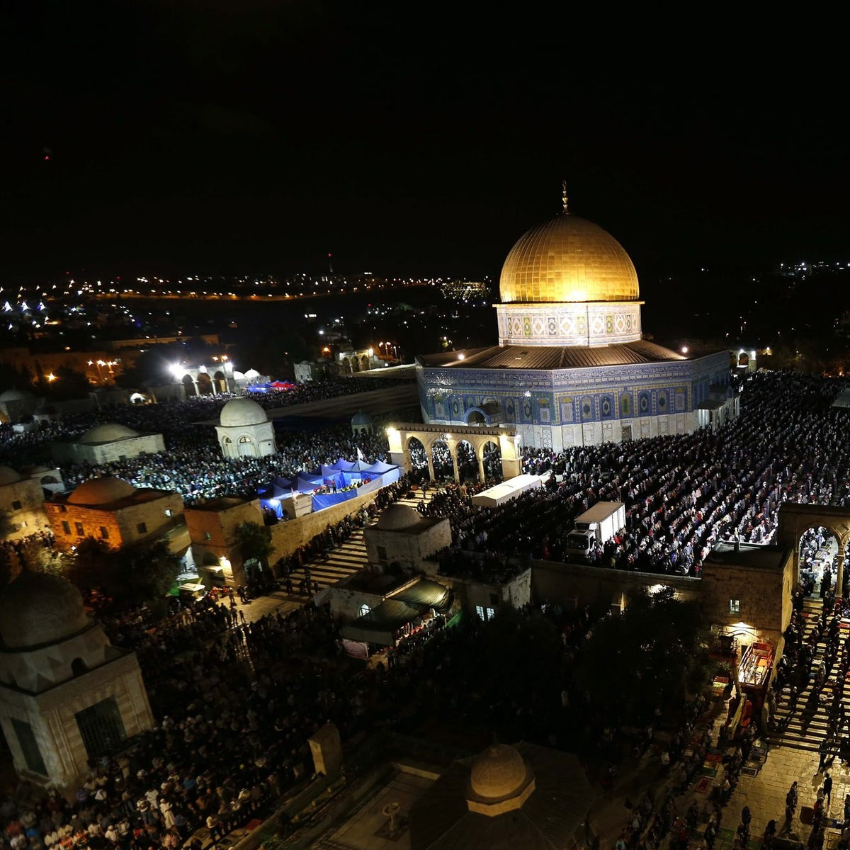 FILE Photo: A view of the Dome of Rock.
