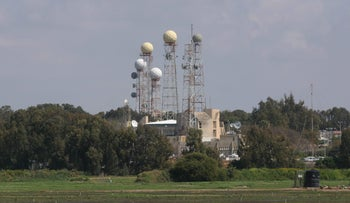 A 8200 base in central Israel