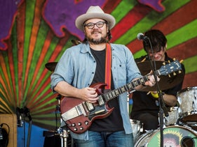 Jeff Tweedy of Wilco performs at the New Orleans Jazz and Heritage Festival on Friday, in New Orleans, on May 5, 2017.