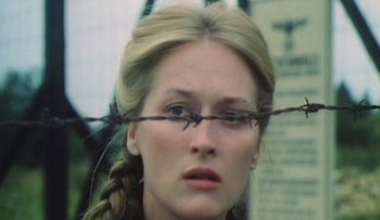 "Meryl Streep in the 1978 NBC miniseries ""Holocaust."" Changed Germany's view of its Nazi past."
