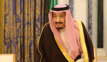 File photo:  Saudi Arabia's King Salman bin Abdulaziz in Riyadh, Saudi Arabia January 14, 2019.