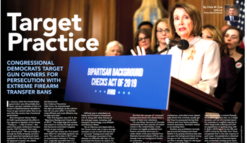 NRA runs ad headlined 'Target Practice' next to photo of Nancy Pelosi