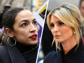 Rep. Alexandria Ocasio-Cortez and Ivanka Trump.