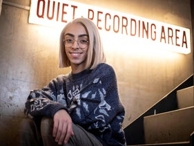 FILE PHOTO: French singer Bilal Hassani poses in Paris, January 28, 2019.