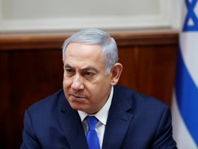 File photo: Israeli Prime Minister Benjamin Netanyahu chairs the weekly cabinet meeting in Jerusalem, March 3, 2019.
