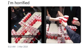 Nazi salutes and swastika beer pong: California high school students under fire