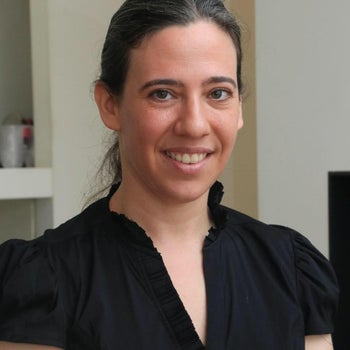 """Michal Gera Margaliot, head of the Israel Women's Network. Expects a """"dramatic decrease"""" in the number of female lawmakers in the next Knesset."""