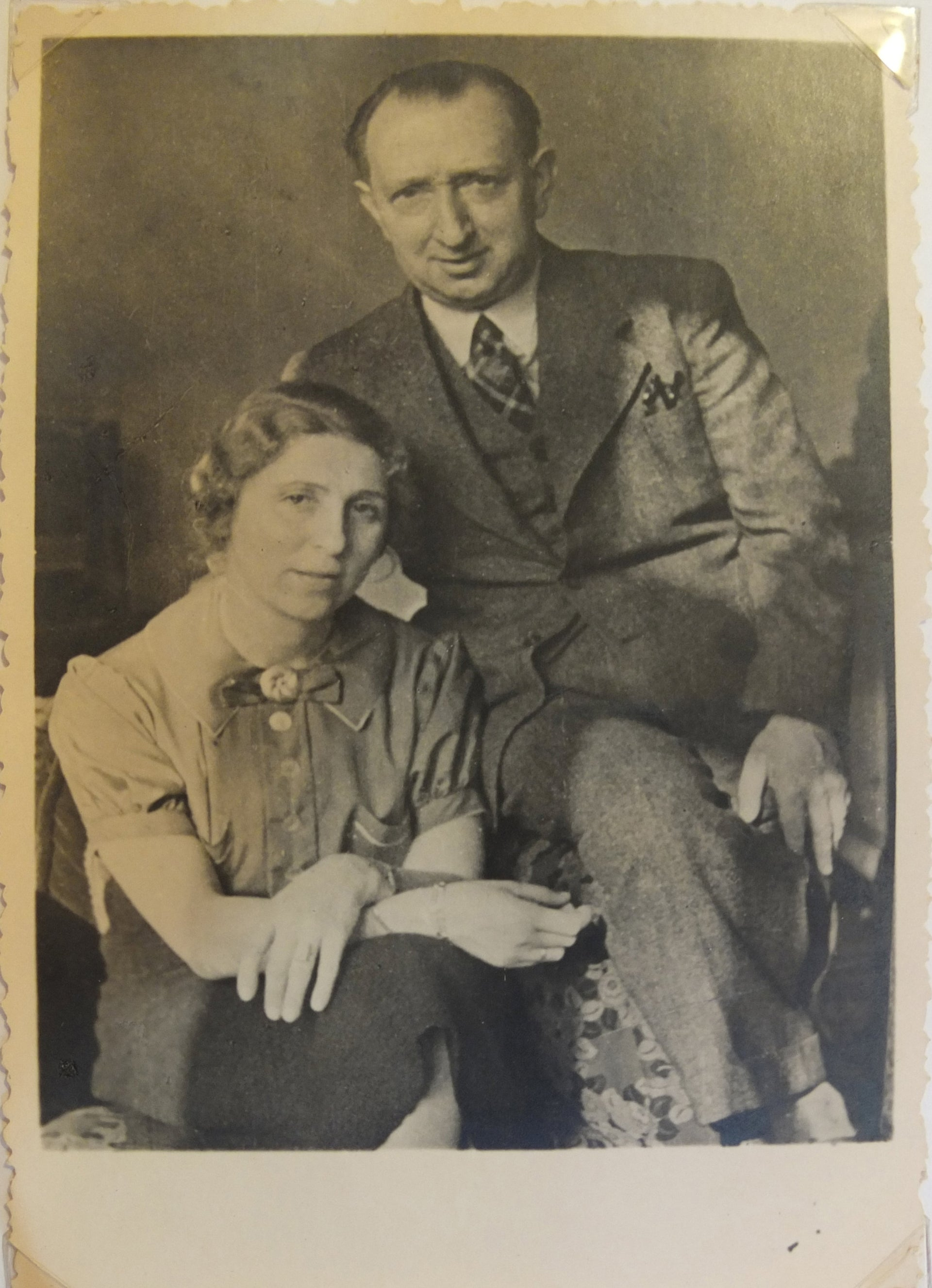 Georg and Charlotte Nomburg, 1938.