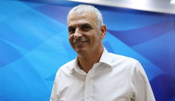 Finance Minister Moshe Kahlon attends a cabinet meeting in Jerusalem, March 6, 2019.