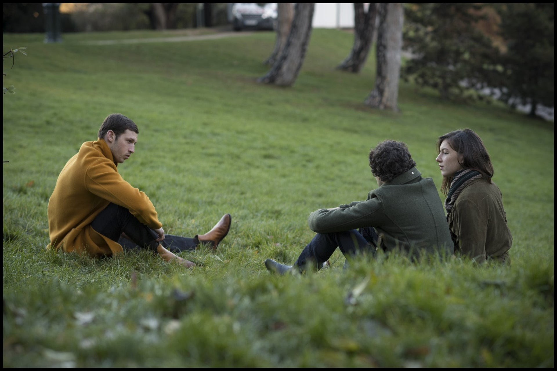 A scene from 'Synonyms.' Critical of Israeli militarism.