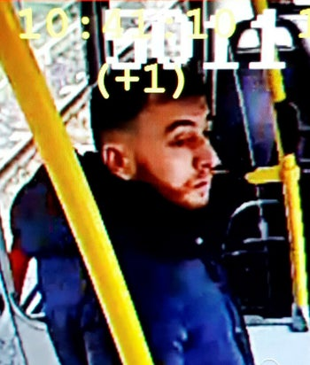 Undated image of suspected shooter Gokmen Tanis, made available on Monday March 18, 2019 from the Twitter page of Police Utrecht.