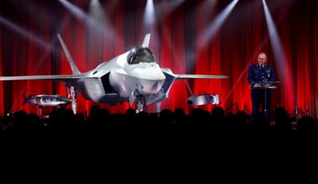 Turkey accepts its first F-35 fighter jet with a ceremony at the Lockheed Martin in Texas, on June 21, 2018. But components of the F-35 fighter aircraft are yet to be delivered to Turkey.