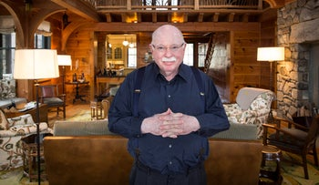 Michael Steinhardt at his home in Mount Kisco, March 2013.