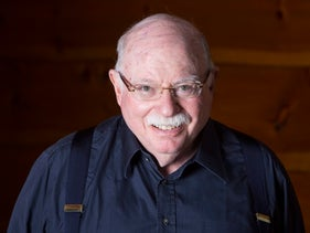 FILE Photo: Michael Steinhardt visits animals in the private zoo at his home in Mount Kisco.