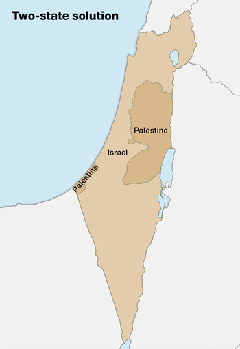 Two-state solution map.