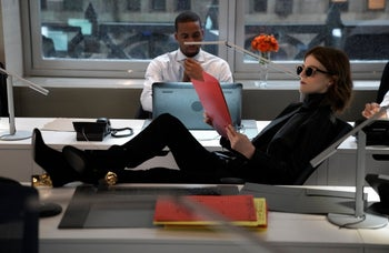 """Rose Leslie in """"The Good Fight."""""""