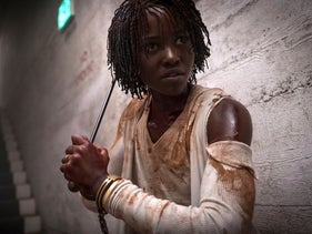"""Lupita Nyong'o in a scene from """"Us,"""" written, produced and directed by Jordan Peele."""