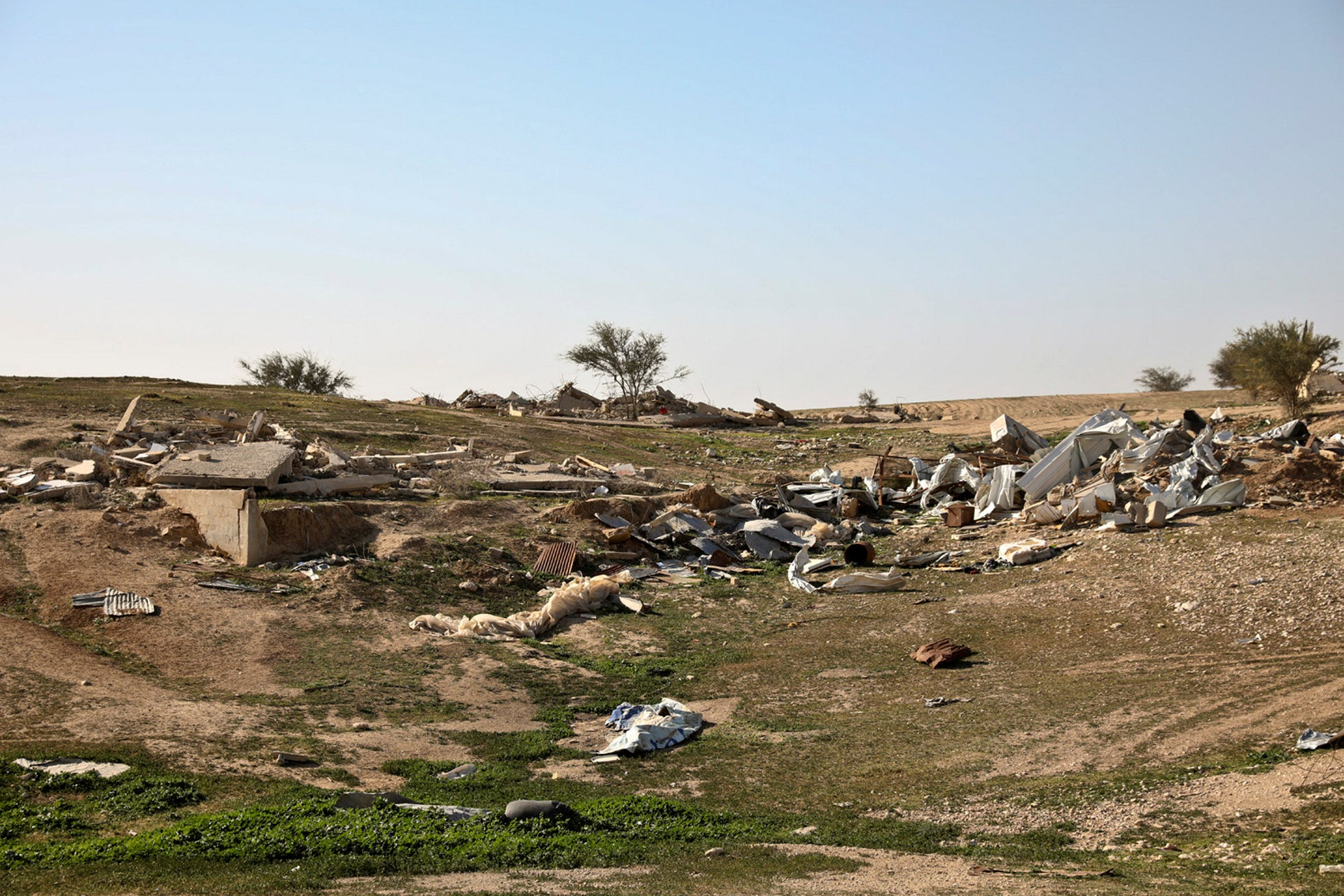 """Umm al-Hiran. """"When people see our photos it provides a more powerful illustration of the anguish we've had to endure, of the discrimination and racism."""""""