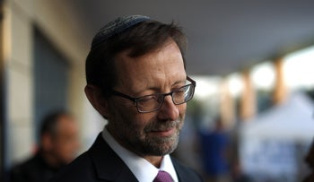 FILE Photo: Moshe Feiglin during the Likud primaries in 2015.