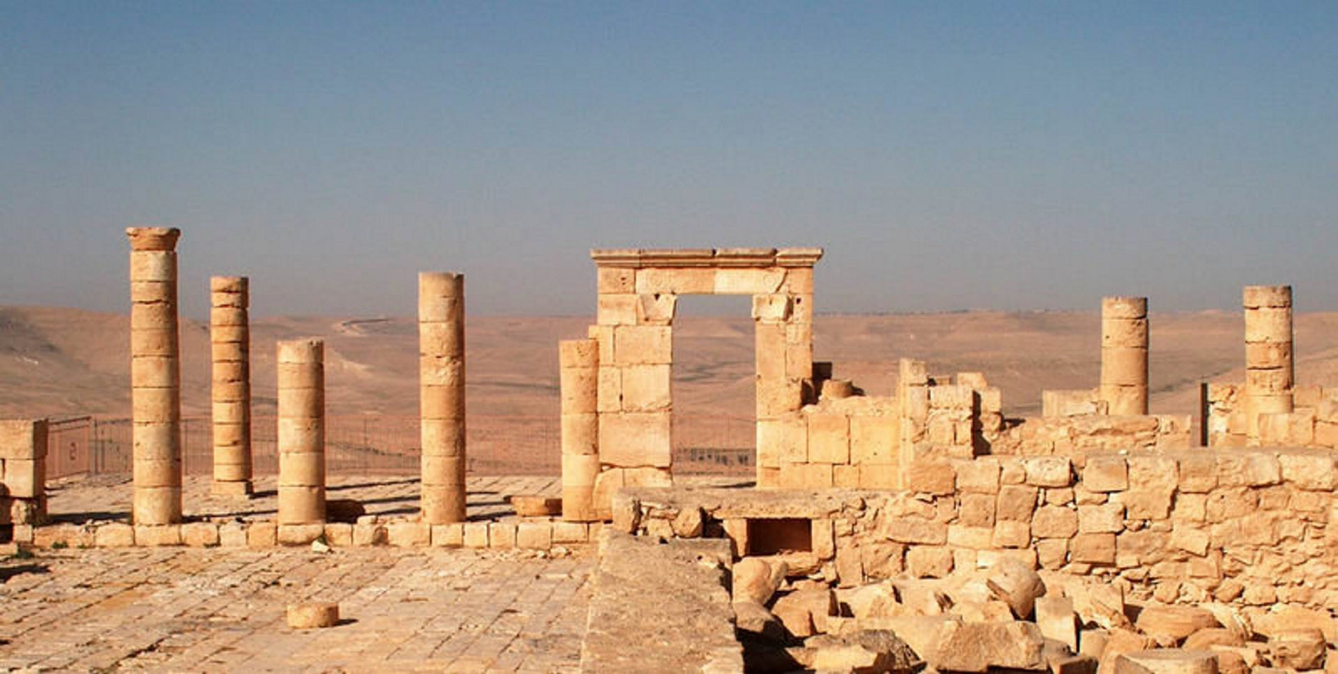A Nabatean temple in the Negev