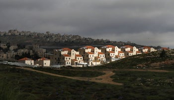 FILE PHOTO: The Jewish settlement of Neve Yaakov in the northern area of east Jerusalem, April 1, 2019.