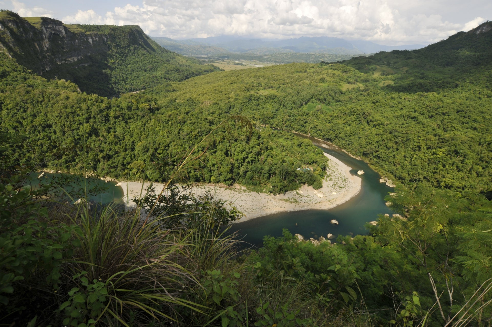 The location of Callao Cave in Luzon, the Philippines