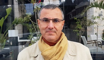 Omar Barghouti, co-founder of the BDS Movement for Palestinians, poses for a photo in Ramallah, West Bank, January 20, 2019.