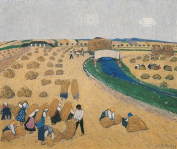 "Broncia Koller-Pinell's ""The Harvest,"" 1908"