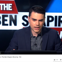 Ben Shapiro on his Daily Wire show